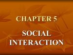 Social Interaction - Redlands Community College
