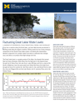 Fluctuating Great Lakes Water Levels