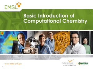 Basic Introduction of Computational Chemistry