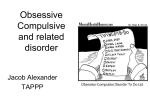 Obsessive Compulsive disorder for medical students