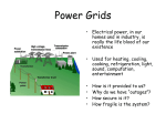 Power Grids Lecture