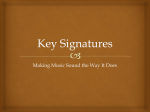 Key Signatures - Anderson Music Room