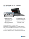 VirtualBench All-in-One Instrument Product Flyer