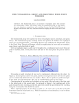 The Fundamental Group and Brouwer`s Fixed Point Theorem