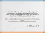 Four-Year Follow-Up of Trastuzumab Plus Adjuvant Chemotherapy