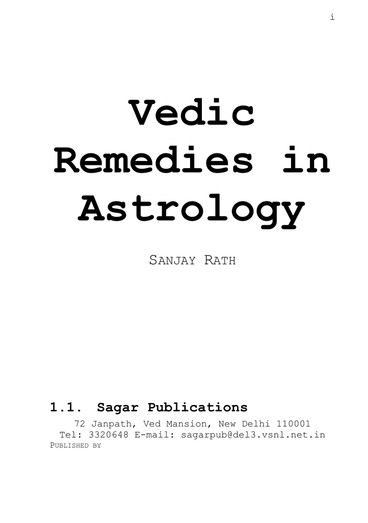 VedicRemediesinAstro   - Saptarishis Astrology