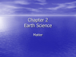 Chapter 2 Earth Science