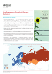 Leading causes of death in Europe Fact Sheet