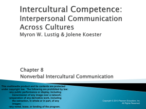 interpersonal and intercultural communication Interpersonal conflict is, however, distinct from interpersonal violence, which goes beyond communication to include abuse domestic violence is a serious issue and is discussed in the section the dark side of relationships.
