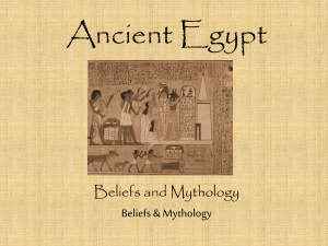 Ancient Egypt - FLYPARSONS.org