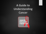 Cancer - Needs Beyond Medicine