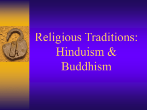 Religious Traditions of India