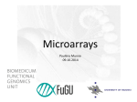 Microarray Services