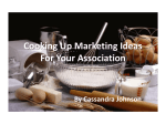 Cooking Up Marketing Ideas For Your Association