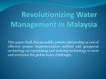Revolutionizing Water Management in Malaysia