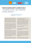 Programme of the international conference