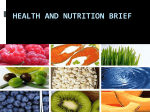 Nutrition Brief