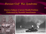 ersian Gulf War Syndrome