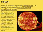 The Sun and Space Objects