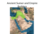 Ancient Sumer and Empire Builders