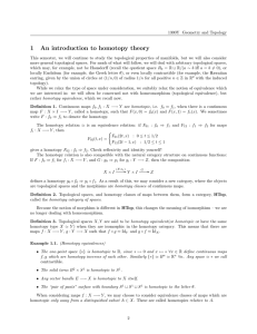 1 An introduction to homotopy theory