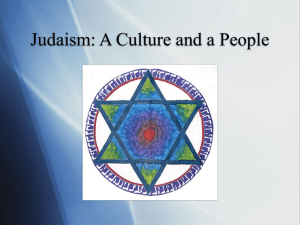 Judaism - John Provost, PhD