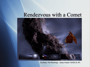 Rendezvous with a Comet