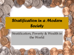 Stratification in a Modern Society PPT