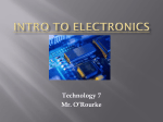Intro to Electronics