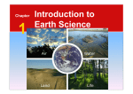 Chapter Introduction to Earth Science