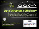 Data Structures Efficiency