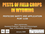 Pests of Field Crops - University of Wyoming
