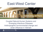 Coupled Natural-Human Systems and Emerging - East