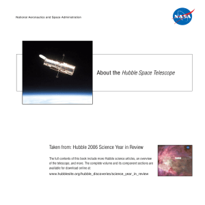 About the Hubble Space Telescope