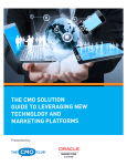 the cmo solution guide to leveraging new technology and marketing