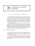 20 STATISTICAL LEARNING METHODS - Artificial Intelligence: A