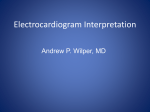 Electrocardiogram Interpretation