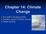 Chapter 14: Climate Change