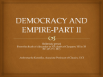 SS 308 Democracy and Empire Part2