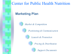 Center for Public Health Nutrition