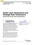 Solder Joint Temperature and Package Peak Temperature