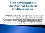 Society in the Ancient Eastern Mediterranean 3500 BCE to 500 BCE