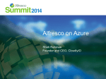 on Azure - Alfresco
