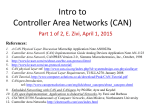 Intro to Controller Area Network (CAN) (Part 1)