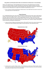 Voting Patterns and Political Boundaries Effect on the Distribution of