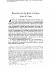 Eumolpos and the Wars of Athens