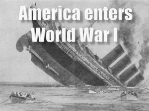 america enters war