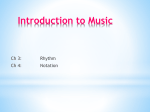Introduction to Music Class #2