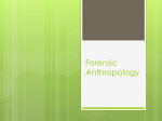Forensic Anthropology - Red Hook Central Schools