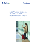 Social? That`s for consumers. For travel companies, social media
